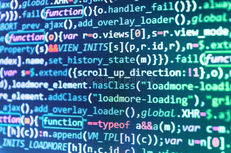 Sviluppo di software immagini stock