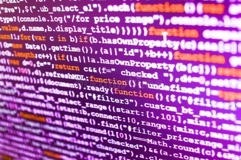 Sviluppo di software immagine stock libera da diritti