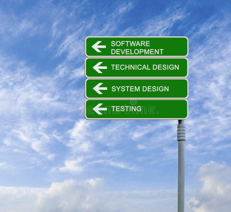 Sviluppo di software fotografie stock libere da diritti