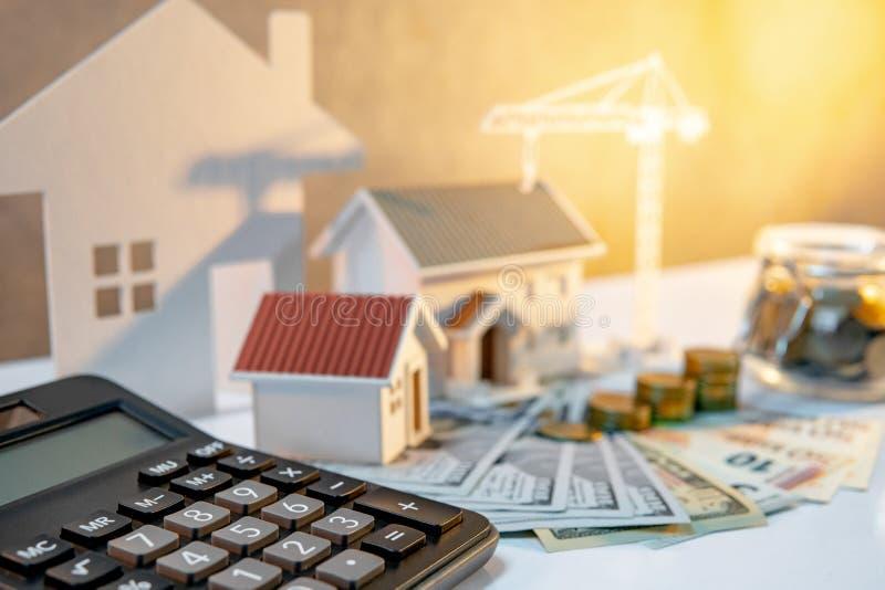 Sviluppo immobiliare, investimento aziendale della costruzione immagine stock