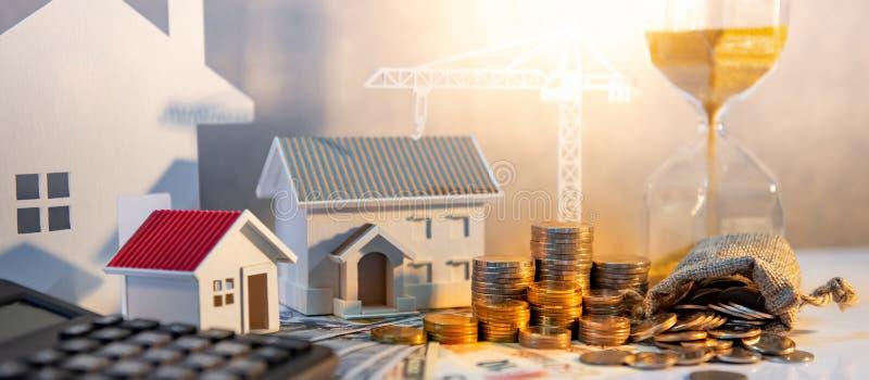 Sviluppo immobiliare, investimento aziendale della costruzione fotografie stock