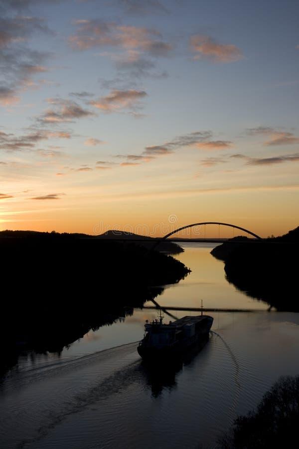 Download Svinesund Norway Sunset stock image. Image of evening - 11610007