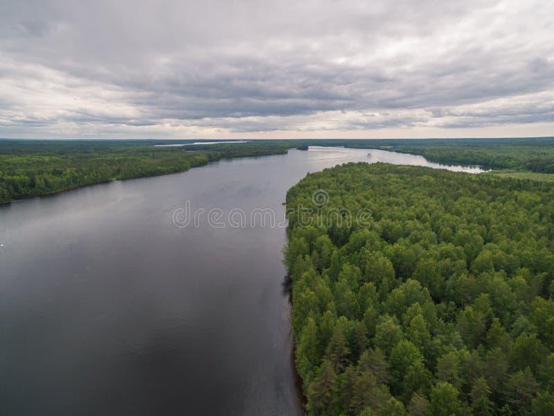 Svir river, Karelia, Russia. Svir river, Karelia, north of Russia royalty free stock photography