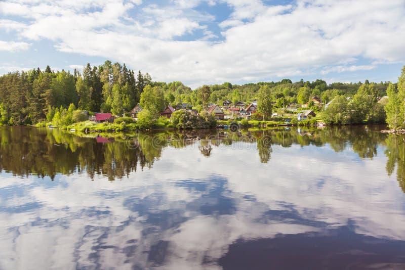 Svir River. Karelia. Russia. Svir River. Karelia. North of Russia stock photos