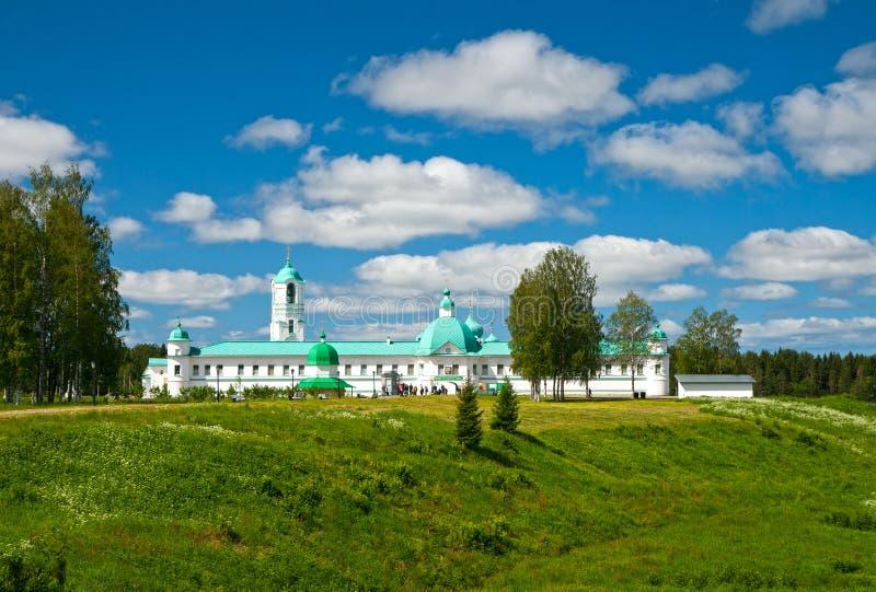 svirsky亚历山大的修道院 免版税图库摄影