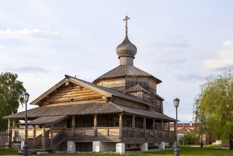 Sviyazhsk, Rosja, Czerwiec 04, 2018: Katedra w imię ikony matka bóg zdjęcia stock