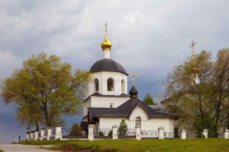 Sviyazhsk, Rosja, Czerwiec 04, 2018: Kościół święty Constantine i Helena obrazy royalty free