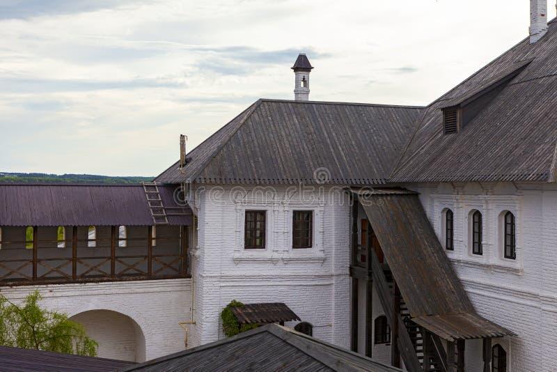 Sviyazhsk, Rosja, Czerwiec 04, 2018: Wniebowzięcie katedra w Sviyazhsk, republika Tatarstan fotografia royalty free