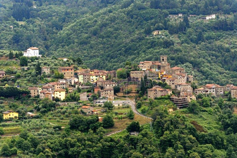 Svizzera Pesciatina (Tuscany) stock photography