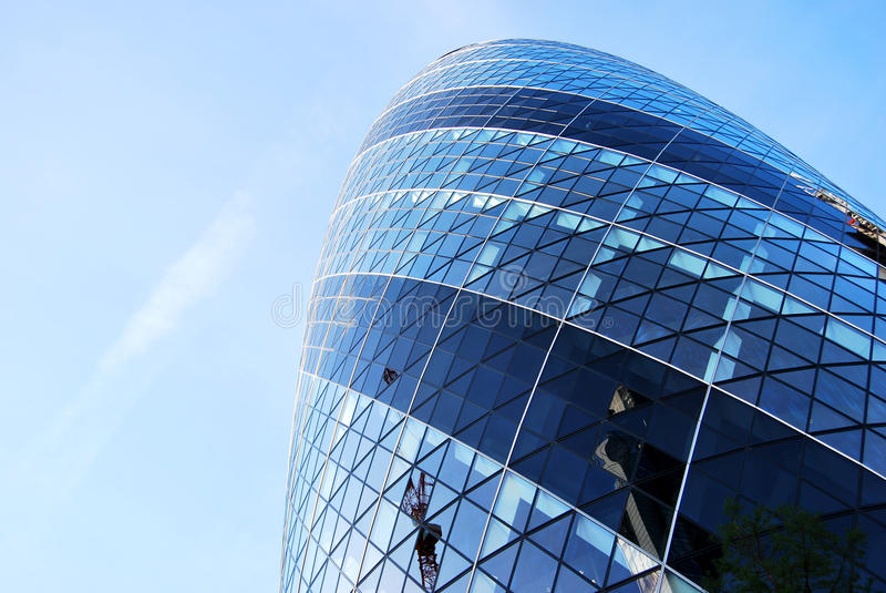 Svizzero con riferimento alla torre, cetriolino, Londra immagini stock