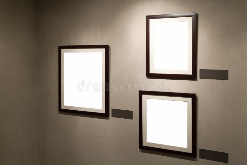 Svuoti il blocco per grafici sulla parete immagini stock libere da diritti