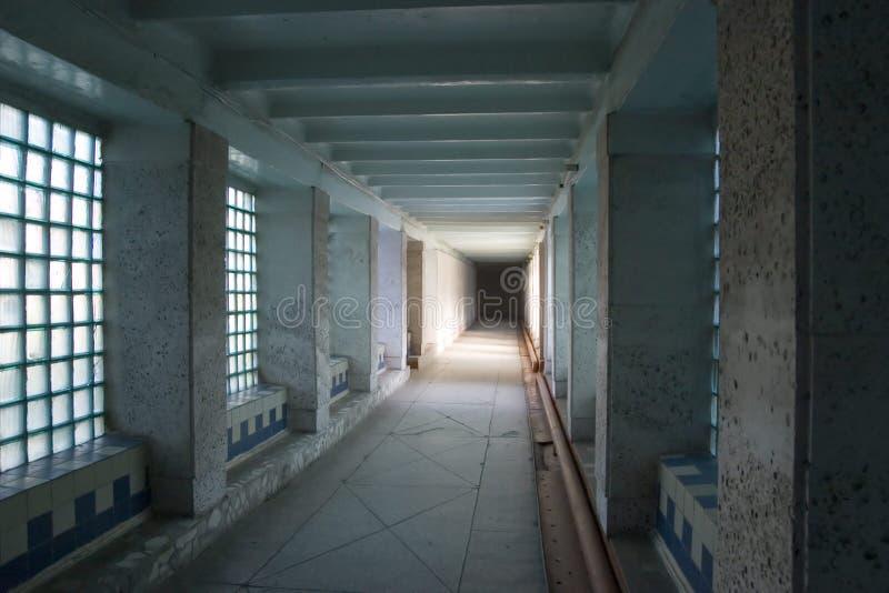 Svuoti il corridoio fotografia stock