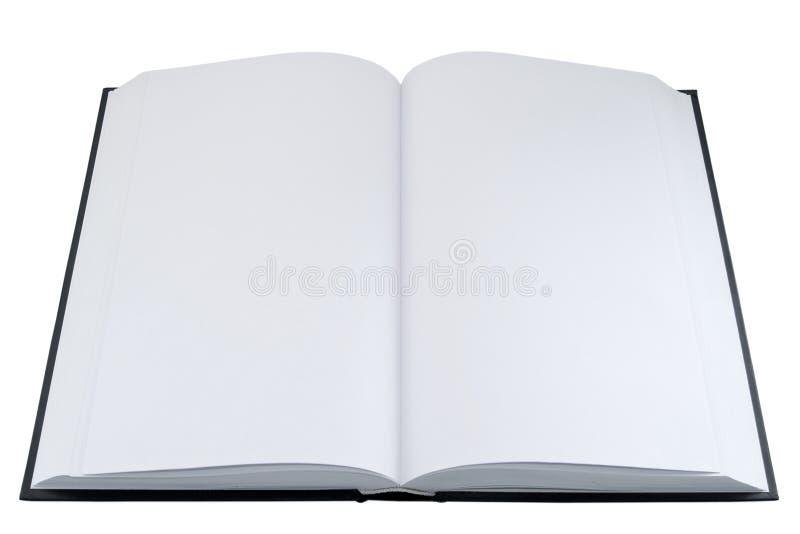 Svuoti il libro aperto fotografia stock libera da diritti