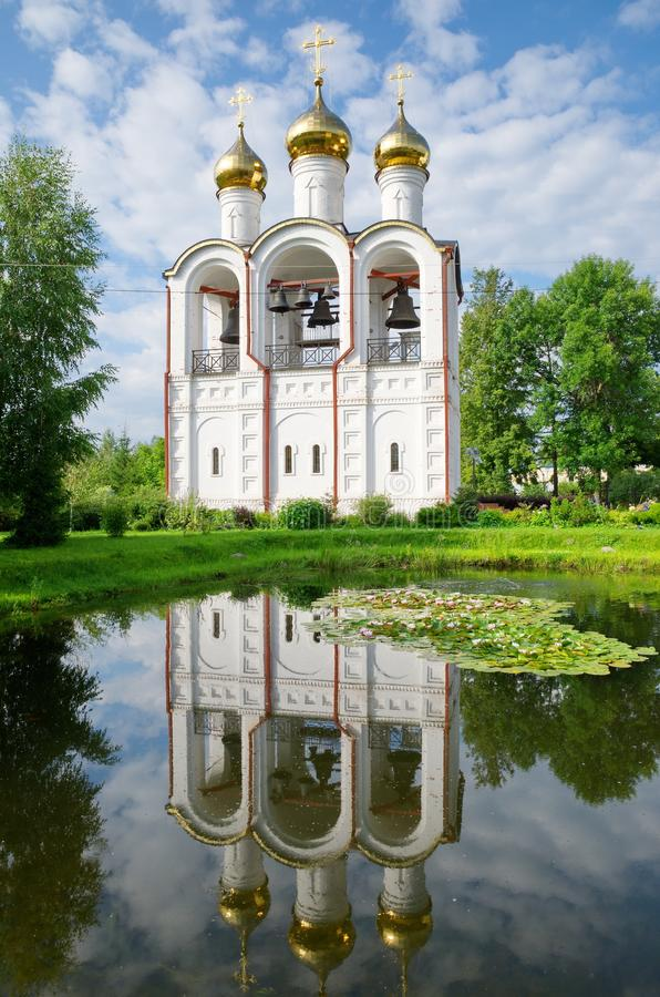 Svyato-Nikolsky nunnery, Pereslavl-Zalessky, Rosja zdjęcia stock