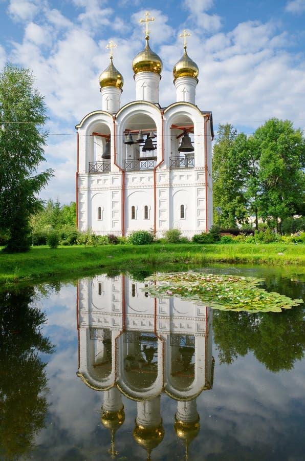 Svyato-Nikolskynonnenkloster, Pereslavl-Zalessky, Russland stockfotos