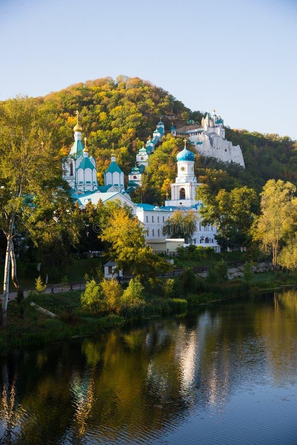 Svyatogorsk拉夫拉,乌克兰 图库摄影
