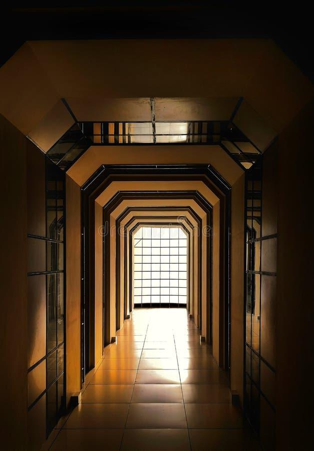Swój atrium budować nie korytarz obrazy royalty free