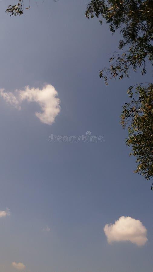 swój piękny niebo zdjęcia stock