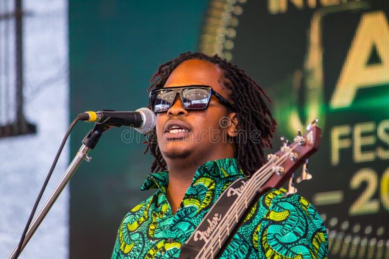 Swahili Jazz Band royalty-vrije stock foto's