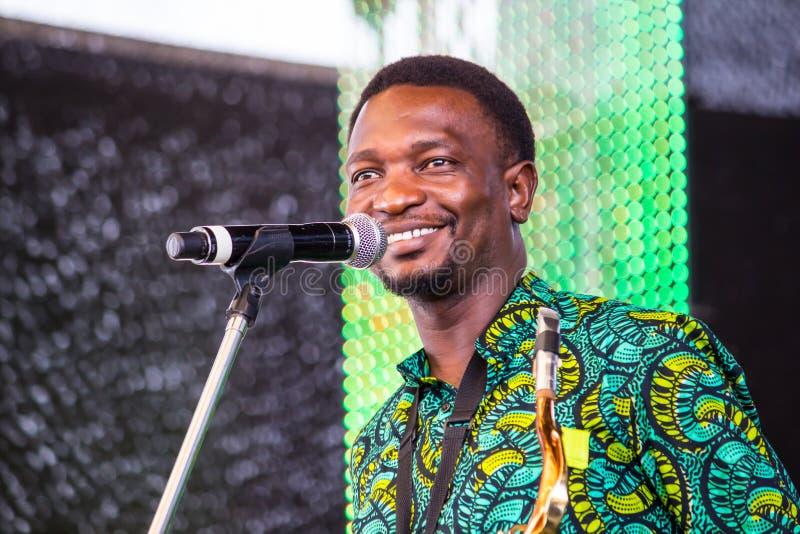Swahili Jazz Band immagine stock libera da diritti