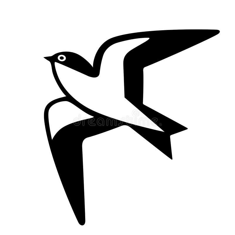 Free Swallow Bird Vector Icon Royalty Free Stock Photos - 184217838
