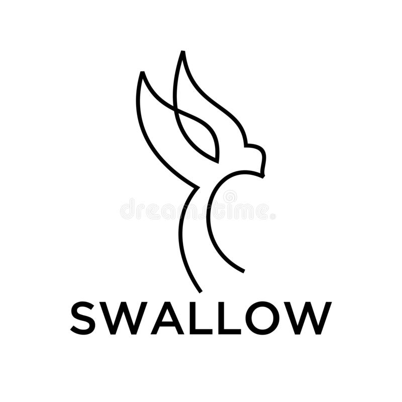 swallow logo black outline line set silhouette logo icon designs vector for logo icon stamp stock illustration illustration of abstract face 130508461 set silhouette logo icon designs vector