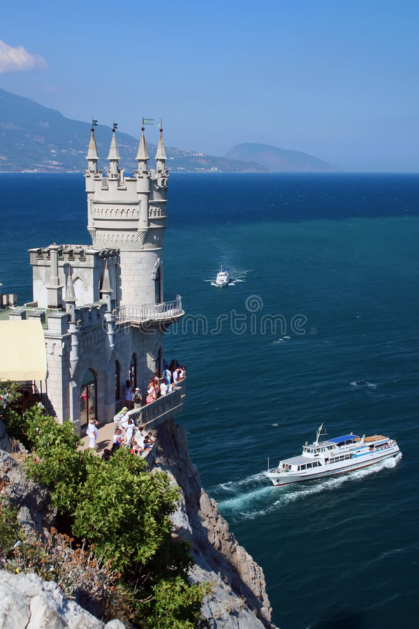 Download Swallow's Nest, Crimea, Ukraine Stock Photo - Image: 3315226