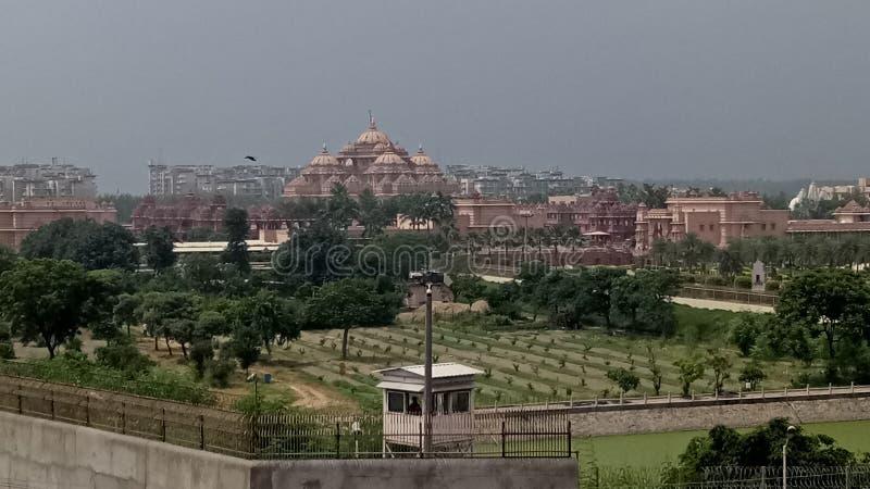 Swami narayan akshardham temple in delhi india. Culture, visiting, place stock images