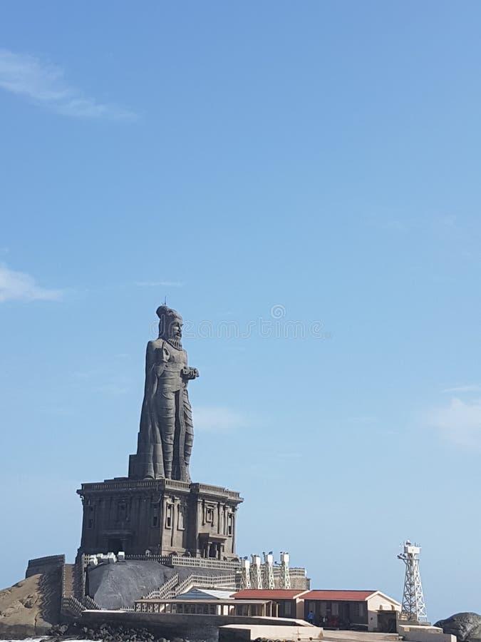 Swami vivekananda temple in kanyakumari royalty free stock photo