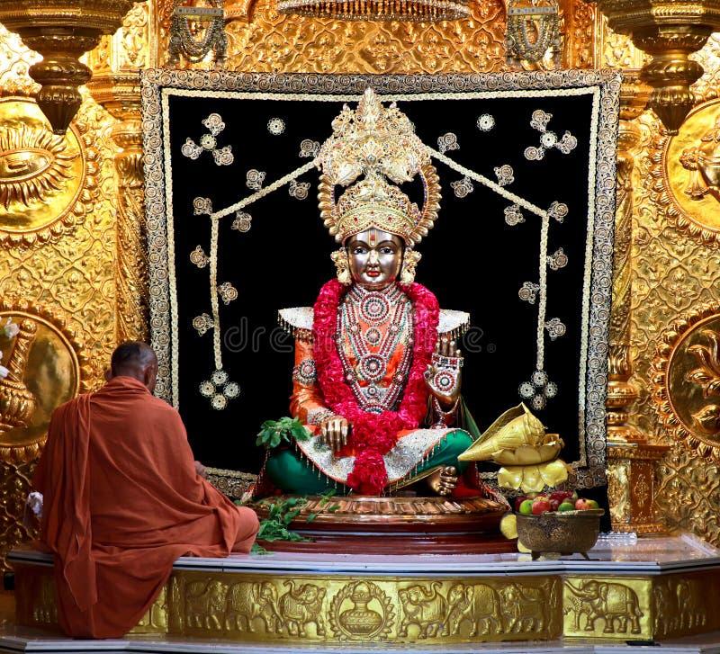 Swaminarayan - Índia fotografia de stock royalty free