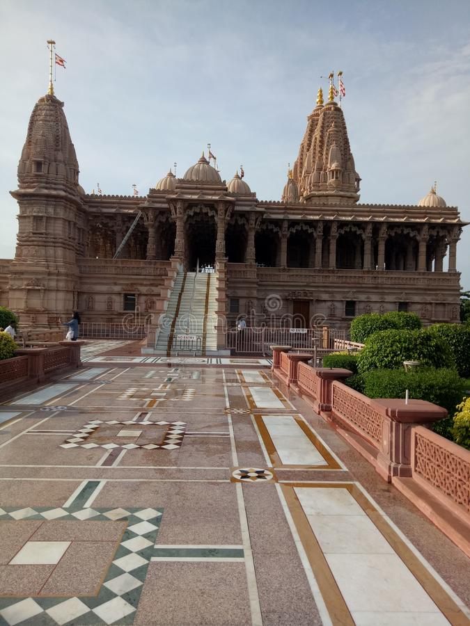 Swaminarayan świątynia fotografia royalty free