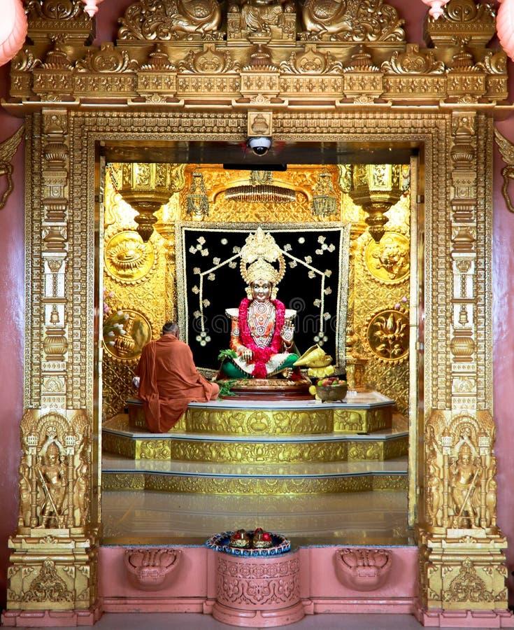 Swaminarayan - Индия стоковое изображение