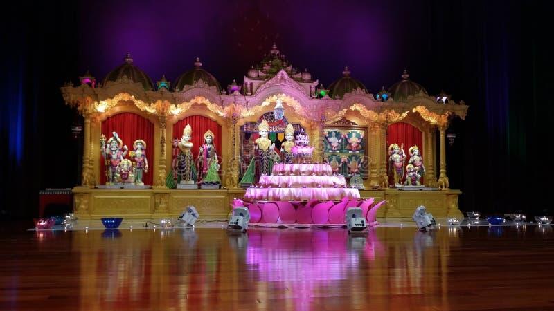 Swaminarayan fotografía de archivo libre de regalías