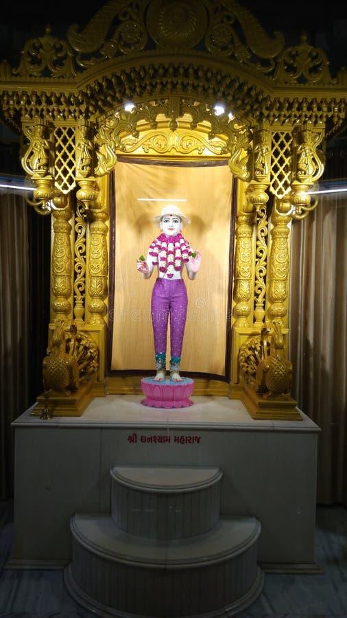 Swaminarayan royalty-vrije stock foto