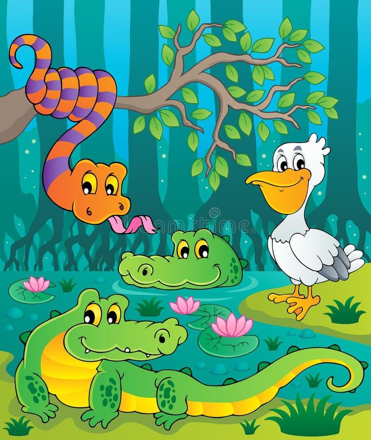 Free Swamp Theme Image 1 Stock Images - 28044584