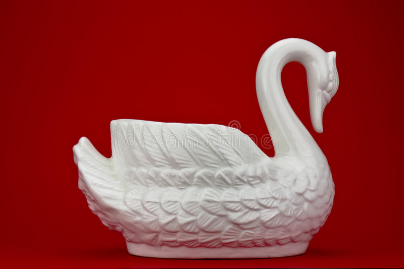 Download Swan stock image. Image of pottery, glass, porcelain - 22457427