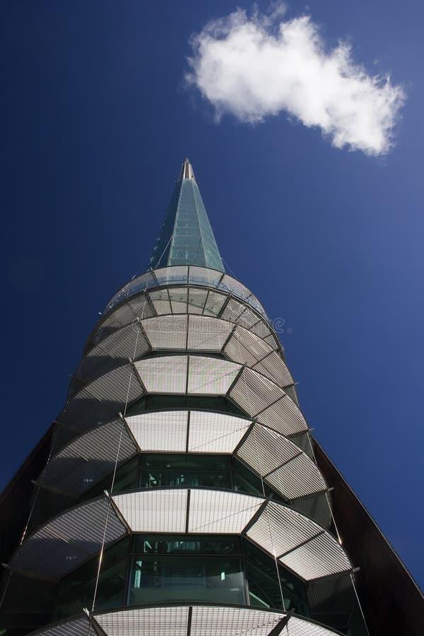 swan dzwonek tower zdjęcie stock