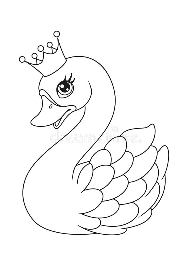 Princess Coloring Page Stock Illustrations – 2,708 Princess Coloring Page  Stock Illustrations, Vectors & Clipart - Dreamstime
