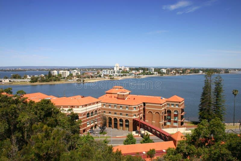 Swan river - Perth Western Australia royalty free stock photo
