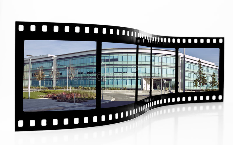 Swansea Film Strip royalty free stock photos