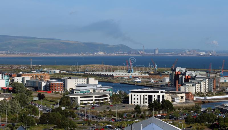 Swansea, Pays de Galles R-U photos stock