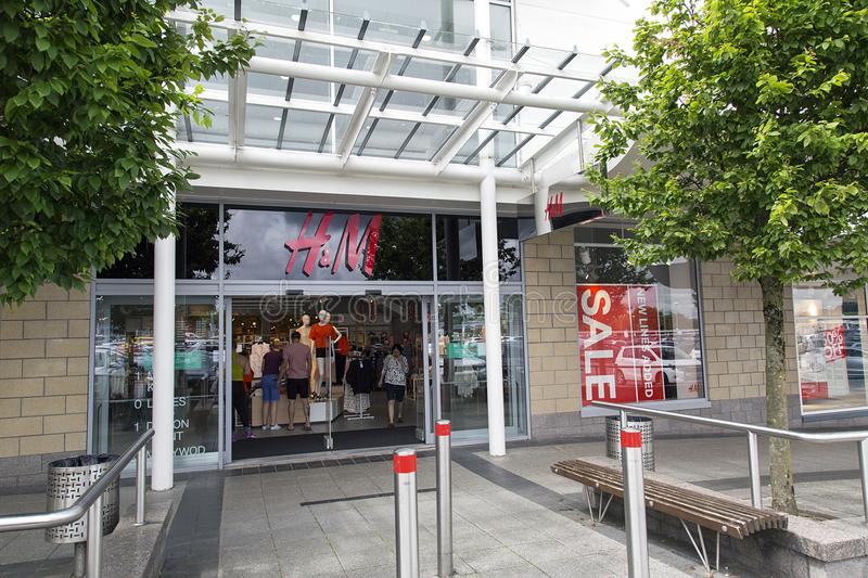 H and M royalty free stock images