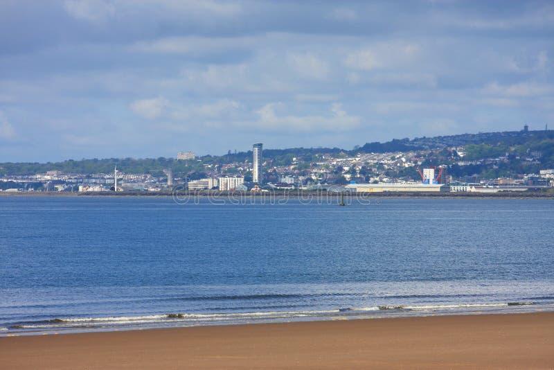 Swansea-Bucht lizenzfreie stockbilder
