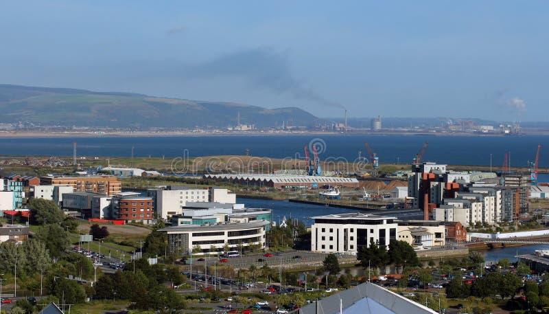 Swansea, Wales het UK stock foto's