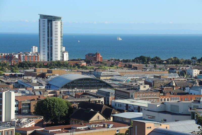 Swansea, Wales, het UK royalty-vrije stock afbeeldingen