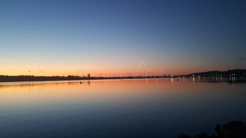 Swansea wschód słońca zdjęcie royalty free