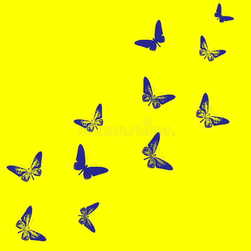 Butterflies Swarm Royalty Free Cliparts, Vectors, And Stock Illustration.  Image 12383546.