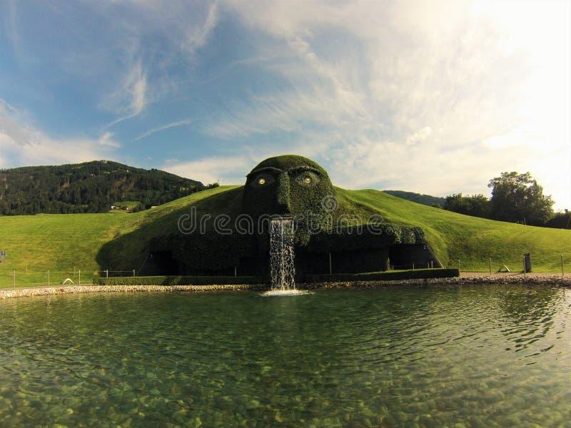 Swarovski Kristallwelten - Áustria imagem de stock royalty free