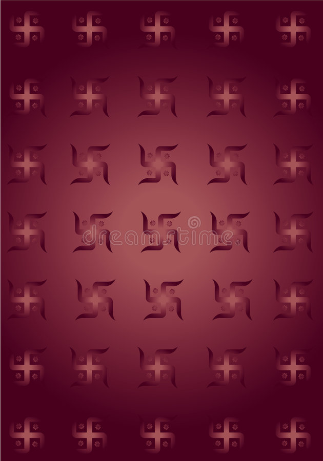 Swastik symbol texture background ! vector illustration