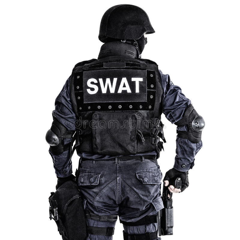 Free SWAT Officer Royalty Free Stock Photography - 38226407